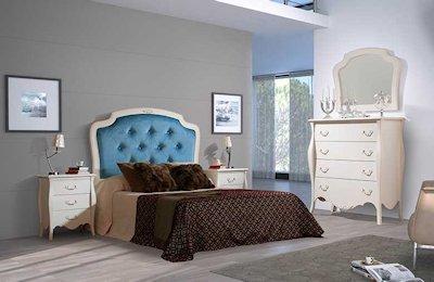 Dormitorios Isabelinos, Neoclásicos, Vintage y Retro.