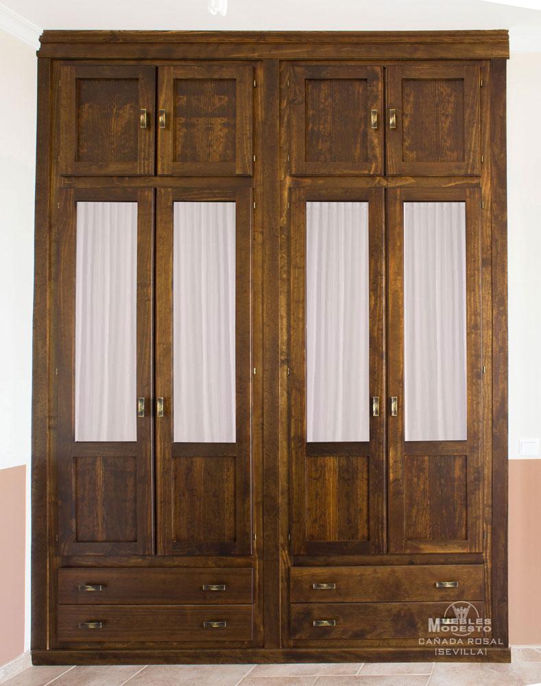 Armarios empotrados a medida muebles modesto - Puertas correderas o abatibles ...