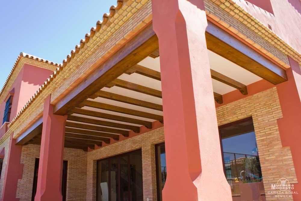 Techos de pergolas techos pergolas con an error occurred - Estructuras de madera para techos ...