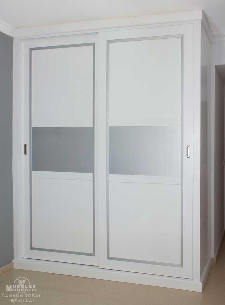 Armarios empotrados a medida muebles modesto - Armarios empotrados con puertas correderas ...