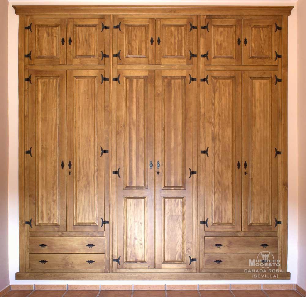 Armarios empotrados a medida muebles modesto - Organizar armarios empotrados ...