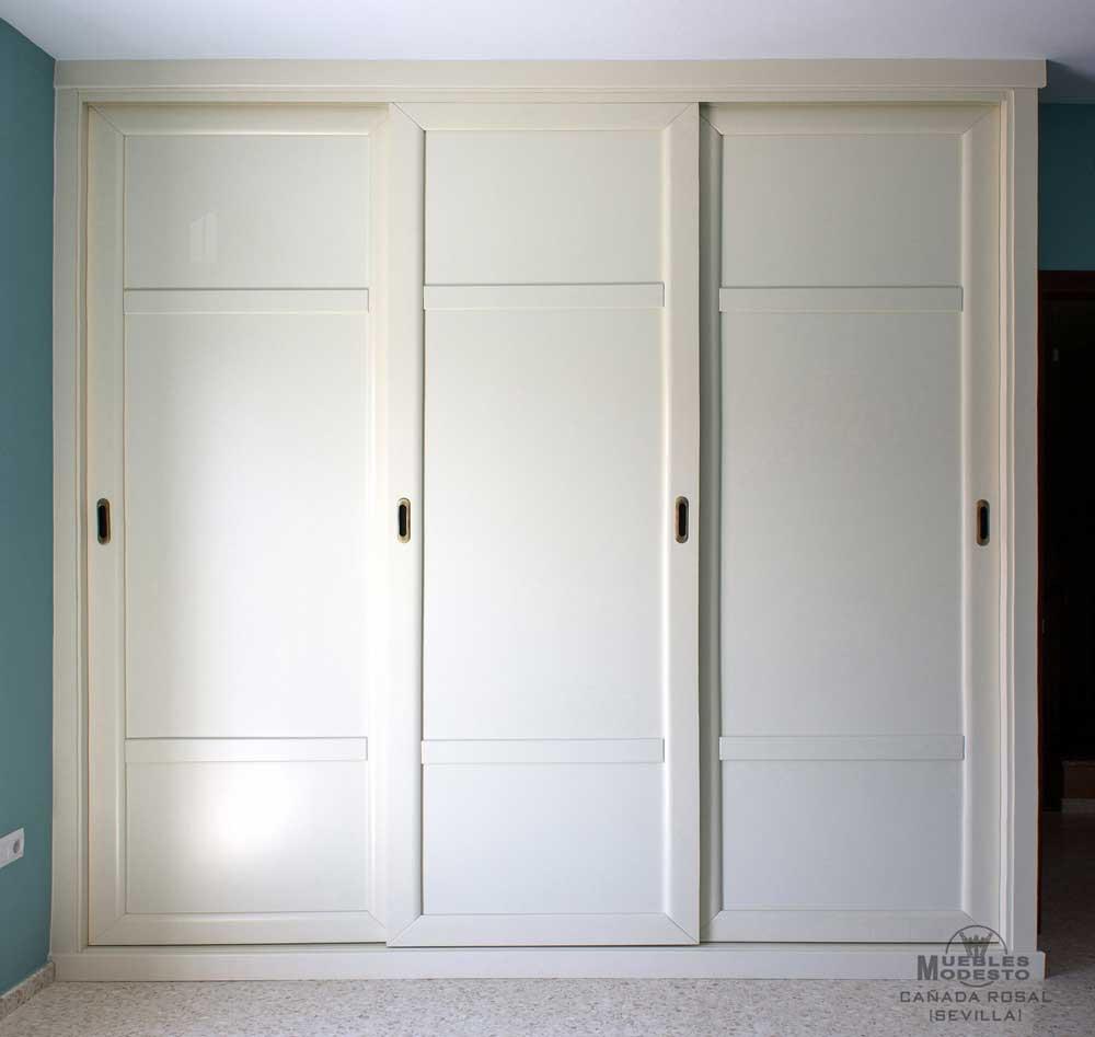 Puertas correderas para armarios empotrados best armarios for Puertas armarios empotrados