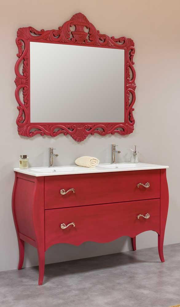 Mueble-de-bano-vintage-120-fucsia-espejo-calado