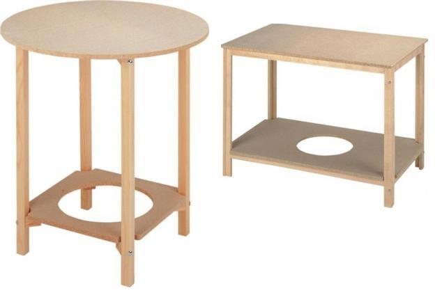 La mesa camilla muebles modesto for Patas de mesa leroy merlin