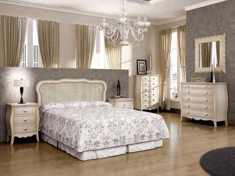 Dormitorios isabelinos neocl sicos vintage y retro - Dormitorios vintage modernos ...