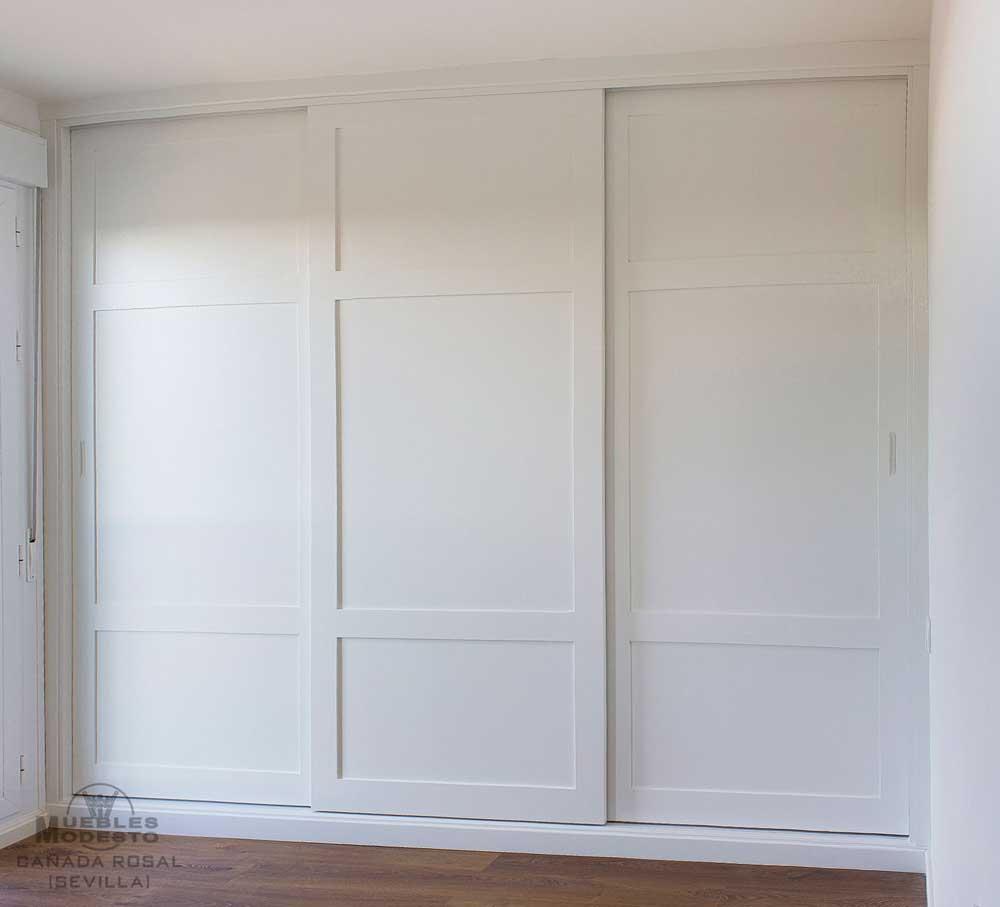 Armarios empotrados a medida muebles modesto - Armarios con espejo para dormitorio ...