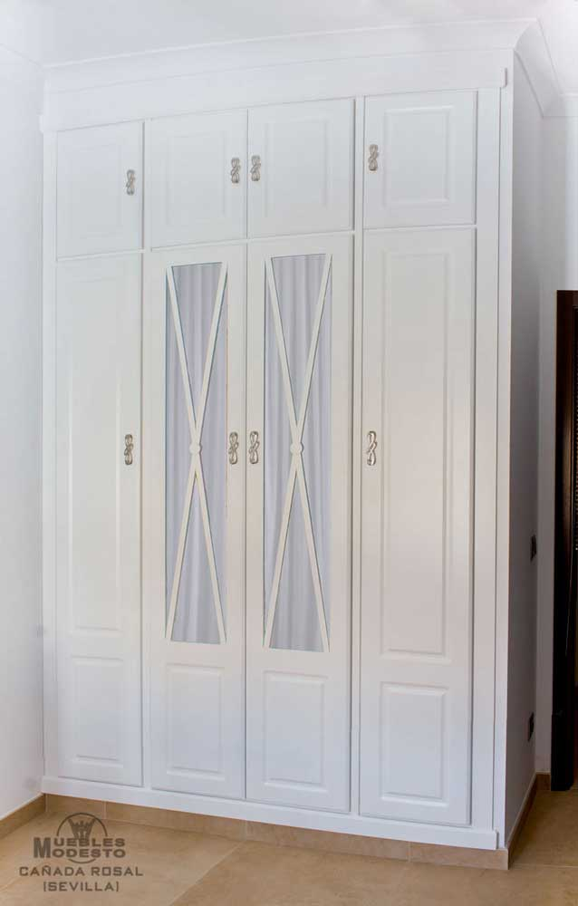 Armarios empotrados a medida muebles modesto - Puertas de armario empotrado ...