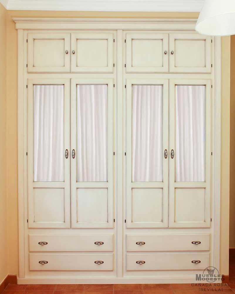 Armarios empotrados a medida muebles modesto - Puertas de cristal para armarios ...