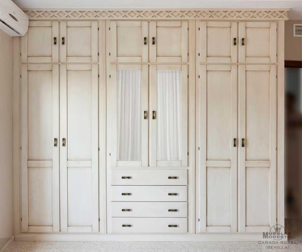 Armarios empotrados a medida muebles modesto - Puertas correderas abatibles ...