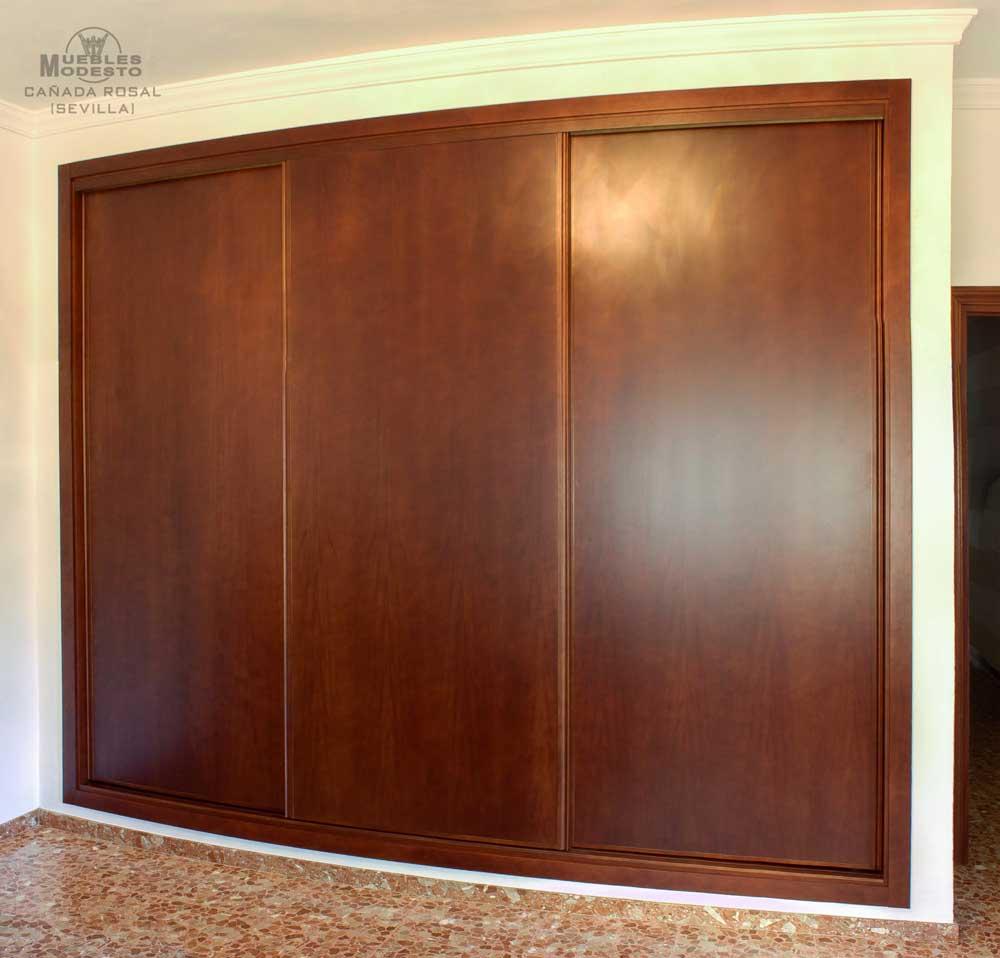 Armarios empotrados a medida muebles modesto - Puertas armario empotrado ...