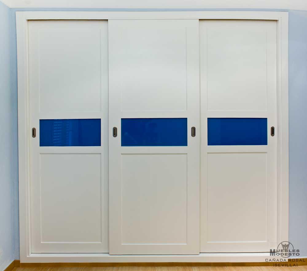 Puertas con cristales de colores latest armario con - Cristales para puertas ...