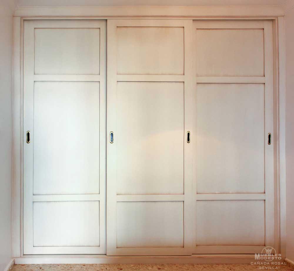 Armarios empotrados a medida muebles modesto - Puertas correderas armario empotrado ...