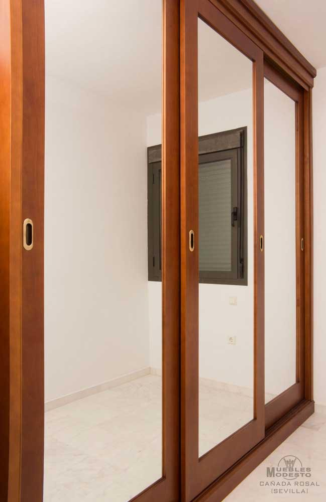 Armarios empotrados a medida muebles modesto for Armario puerta espejo