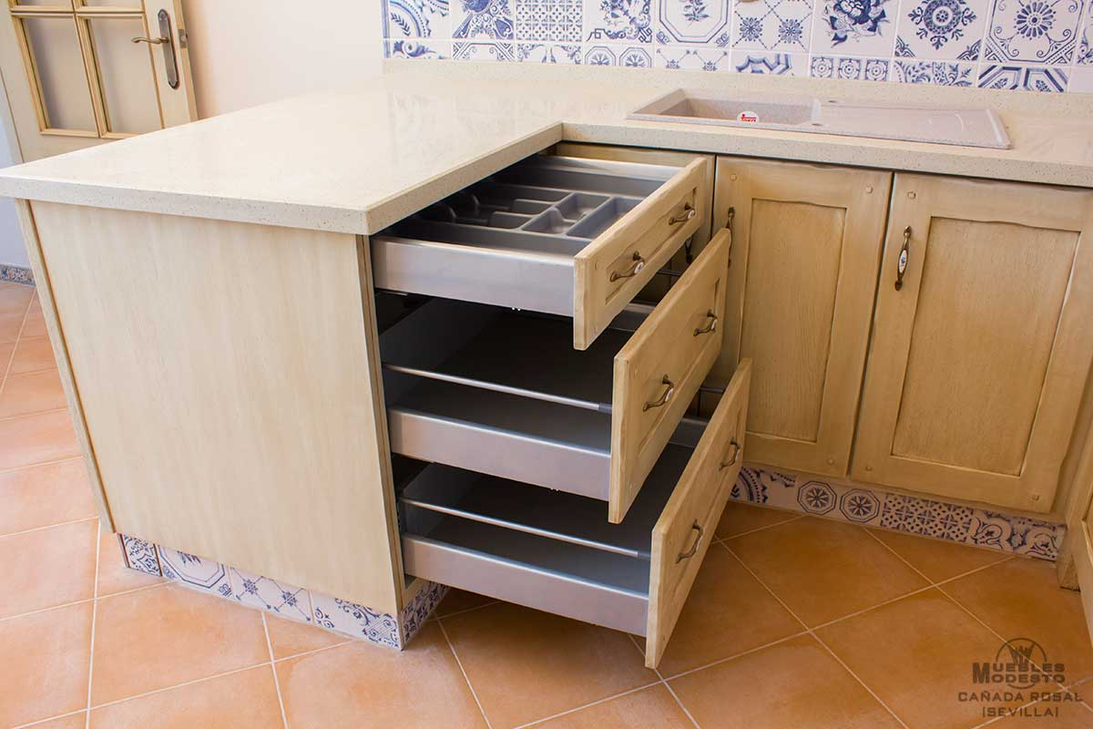 Cajonera de cocina great mesa alta en cocina with cajonera de cocina awesome cajonera niveles - Cajoneras de cocina ...