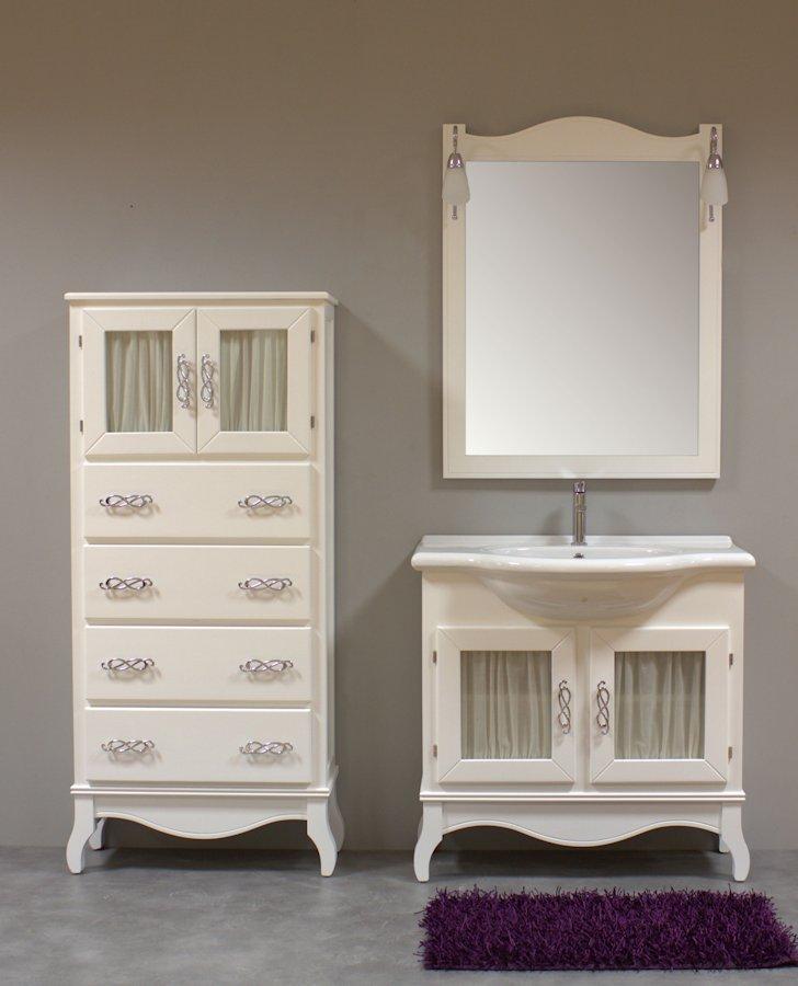 Muebles de ba o vintage muebles de ba o isabelinos for Mueble espejo bano ikea