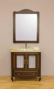 Mueble de baño romántico