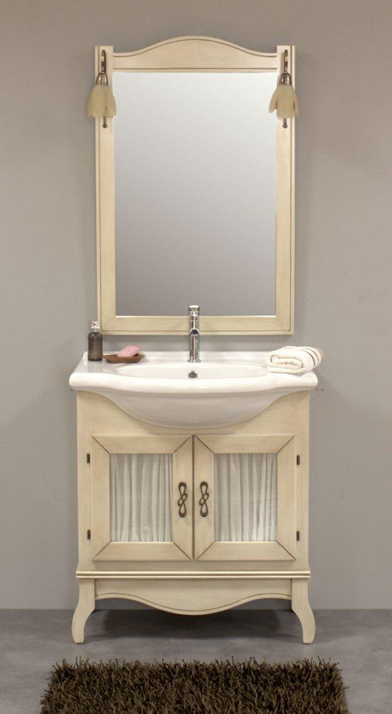 Muebles de ba o vintage muebles de ba o isabelinos - Muebles blanco envejecido ...