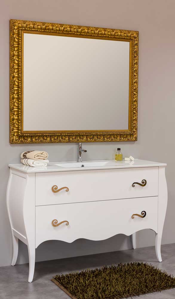 Muebles de ba o vintage muebles de ba o isabelinos for Muebles de bano blancos