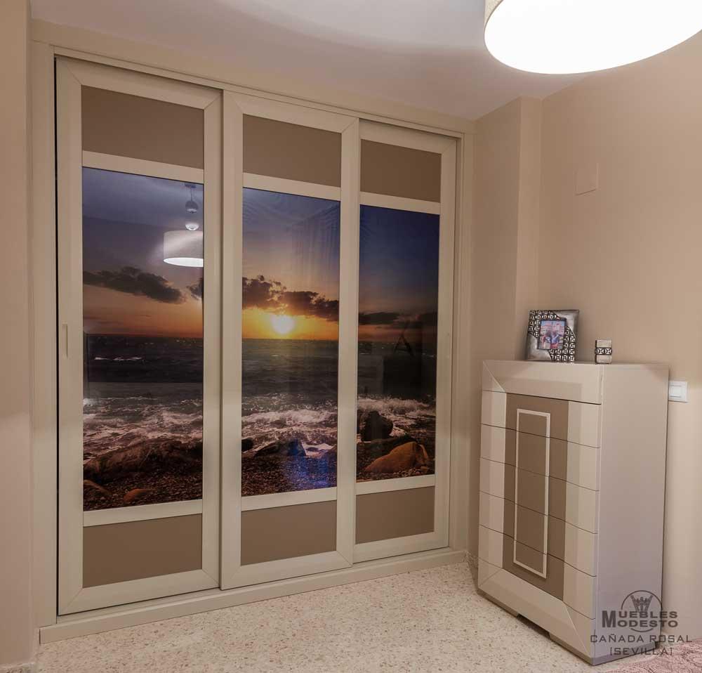Armarios empotrados a medida muebles modesto - Decorar puertas de armarios ...