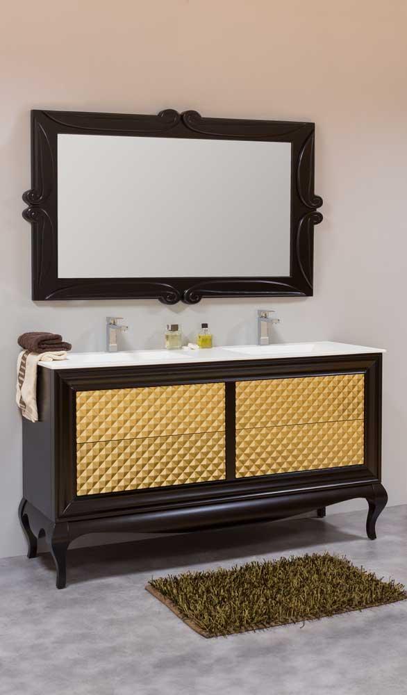 Muebles de ba o vintage muebles de ba o isabelinos - Mueble bano dos senos 150 ...