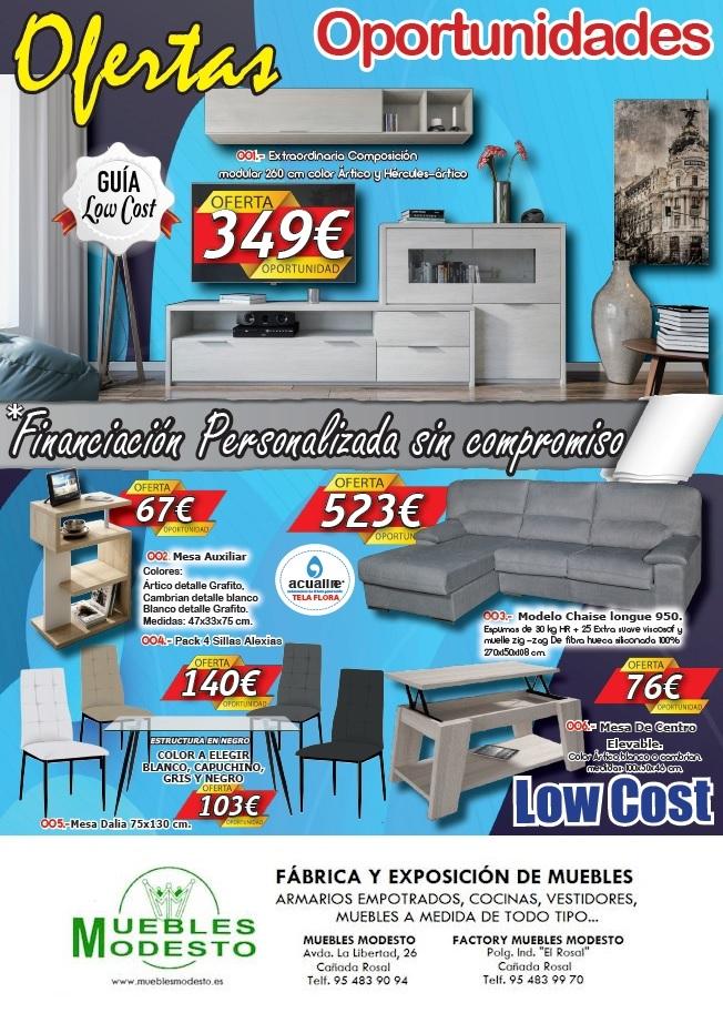 """Nuevo folleto """"Ofertas Low Cost"""""""