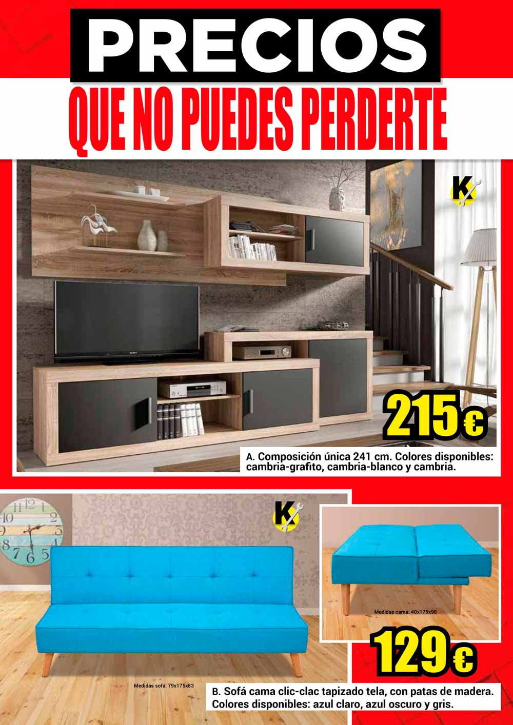 """Nuevo folleto """"Precios que no puedes perderte"""""""