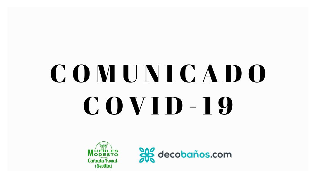 Comunicado COVID-19 a 23/5/2020