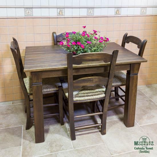 Mesa-cocina-rustica-madera-maciza