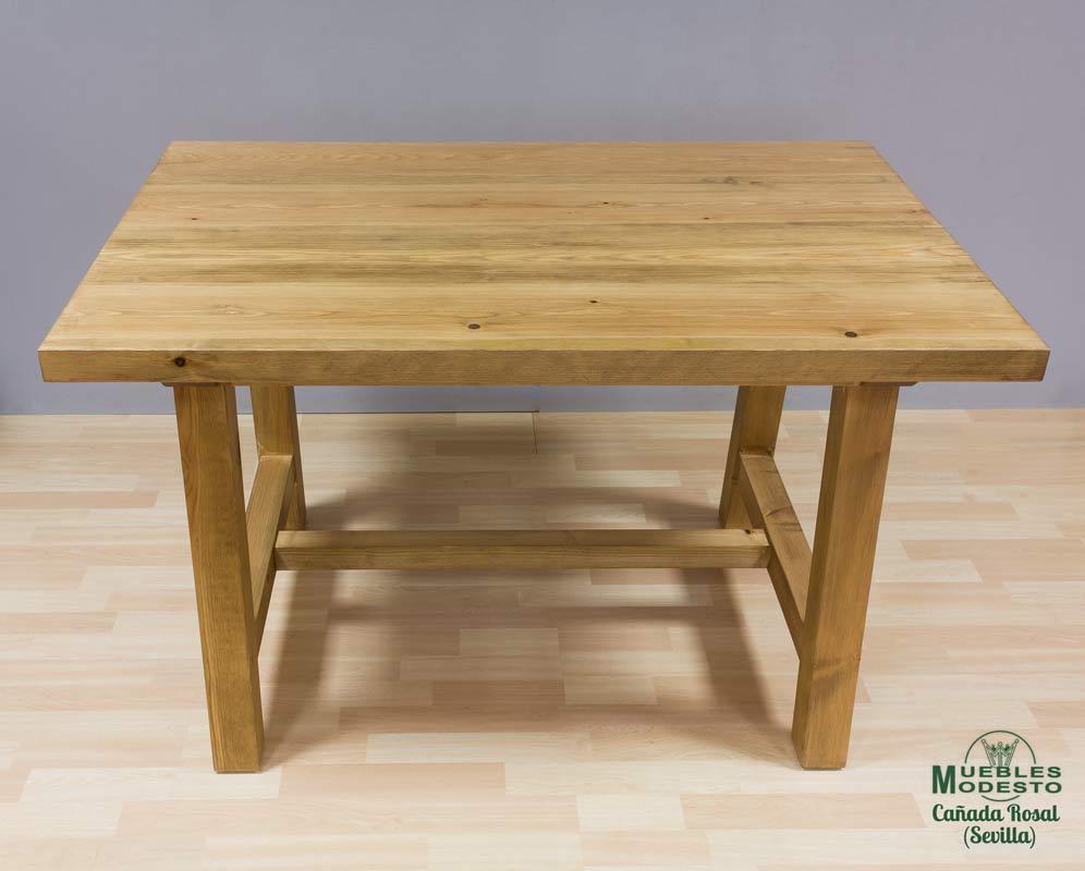 Mesa-rustica-madera-maciza