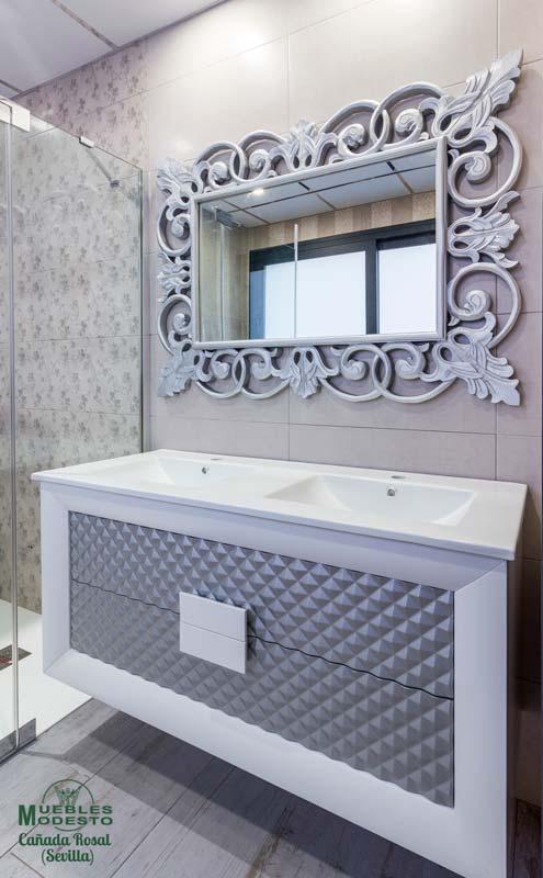 Mueble-bano-neoclasico-suspendido-blanco-gris-plata