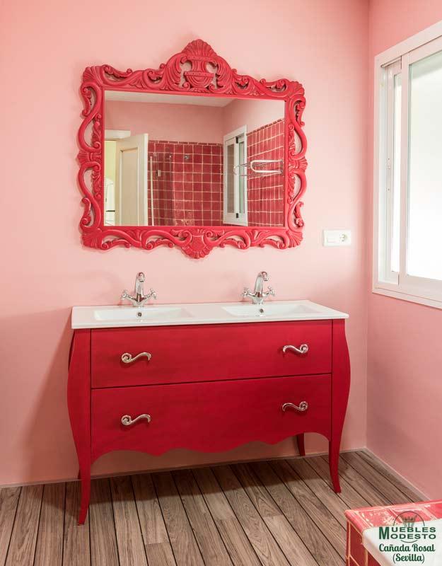 Mueble-bano-vintage-color-ral-azulejo