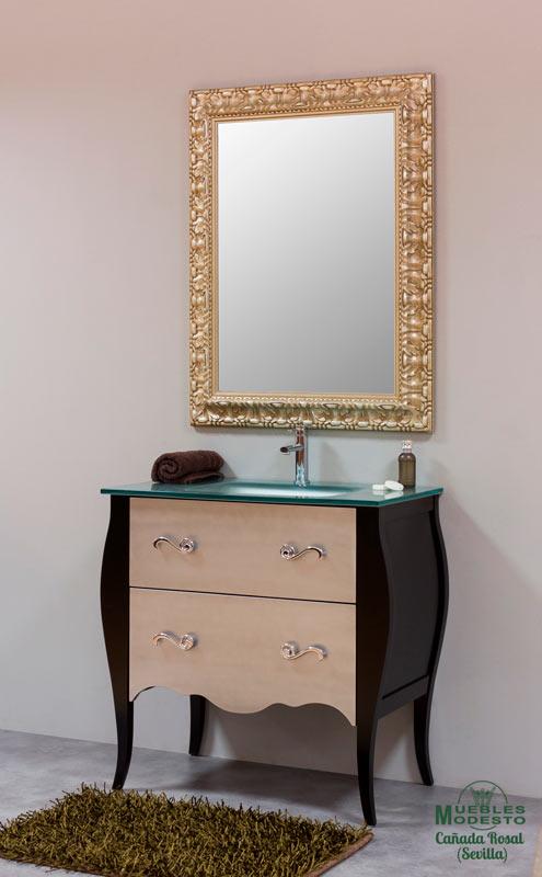 Mueble-bano-vintage-lavabo-cristal