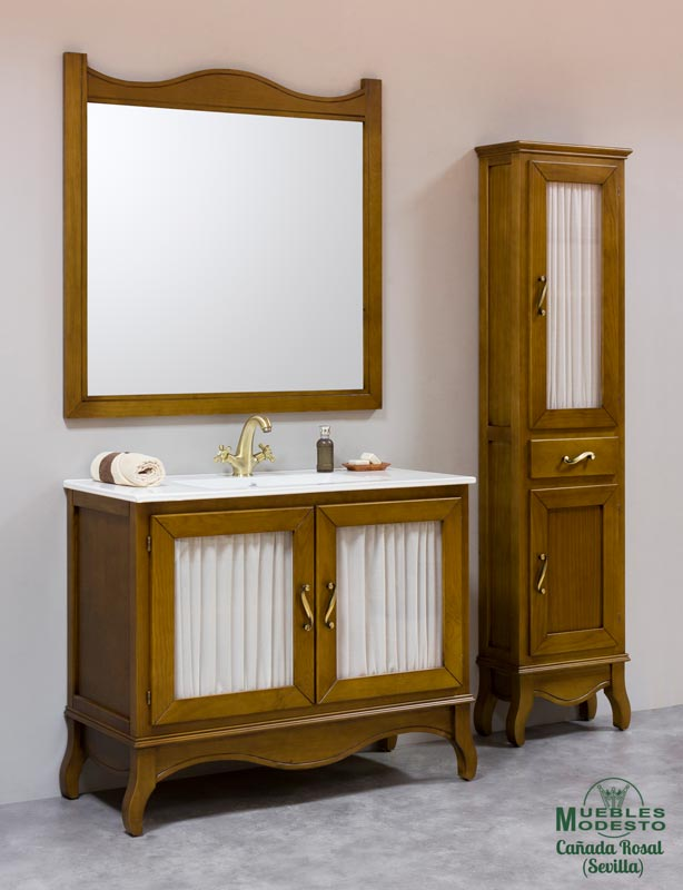 Mueble-bano-vintage-roble-auxiliar-alto-a-medida