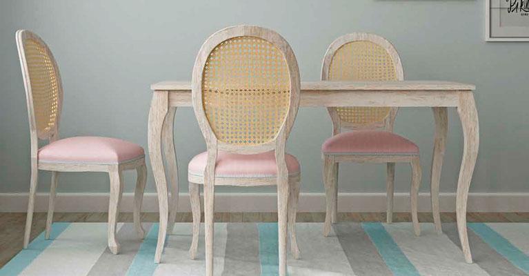 Mesa-sillas-patas-isabelinas