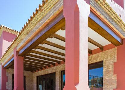 Vigas-madera-techo-porche-medida