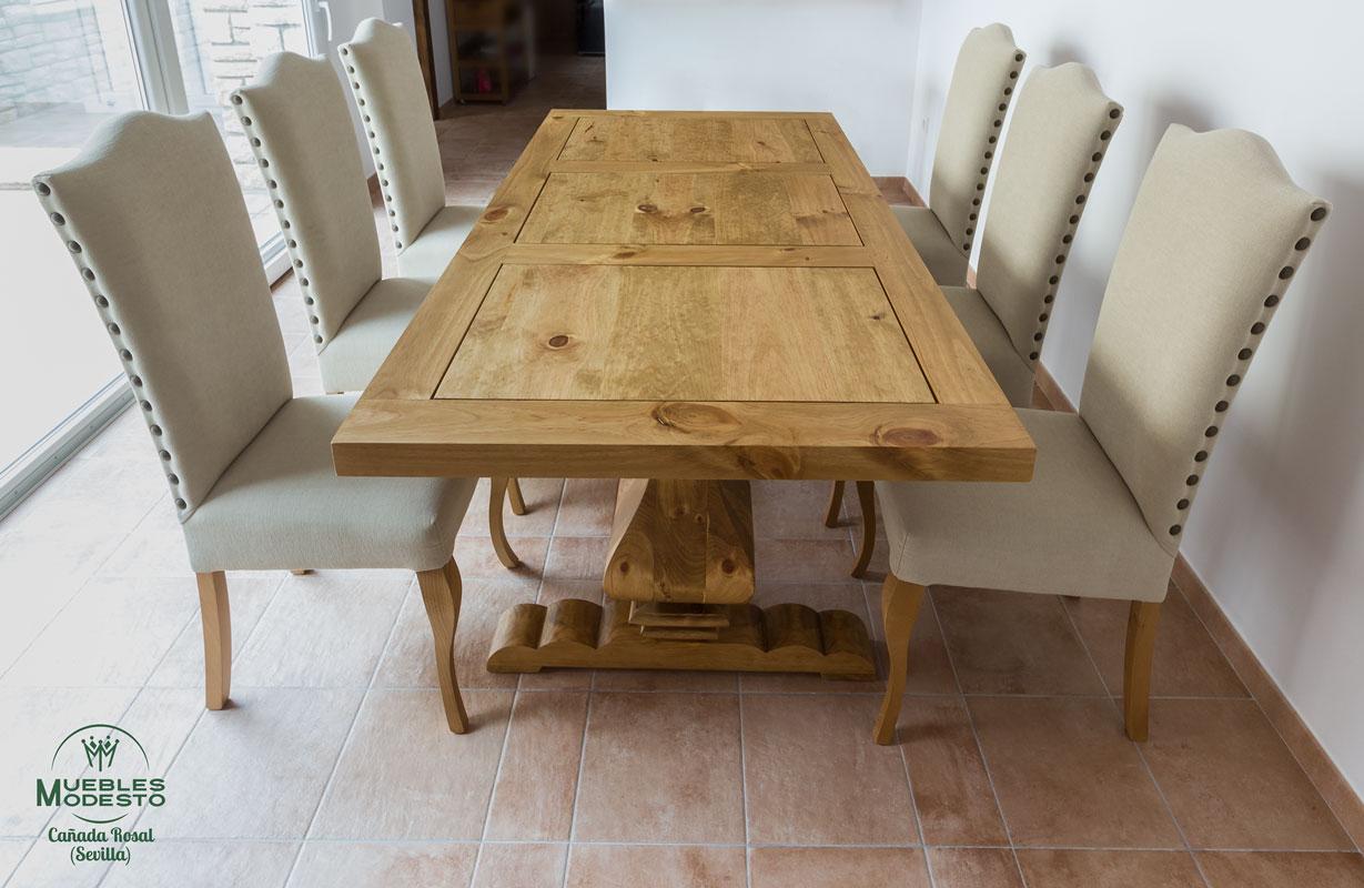 Mesa-rustica-a-medida-madera-maciza-nudos
